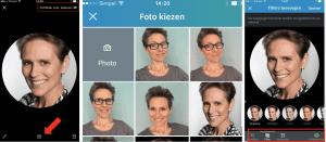 LinkedIn fotofilter Trudy Pannekeet