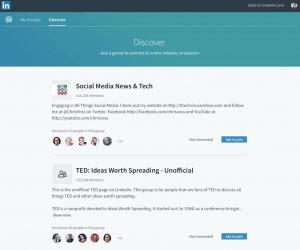 Ontdek welke LinkedIngroepen interessant zijn voor jou