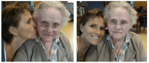 Mijn moeder en ik in Marienhaven Warmond - Trudy Pannekeet