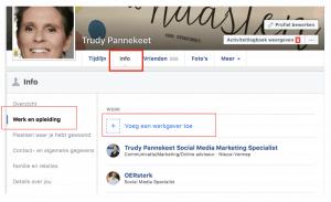 Ga naar Intro om de koppeling te maken naar je zakelijke Facebookpagina
