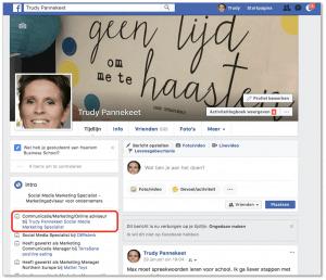 Zo koppel je je zakelijke Facebookpagina aan je privépagina