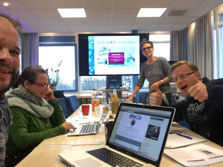 LinkedIn training Trudy Pannekeet voor zzp'ers bij DitisABC
