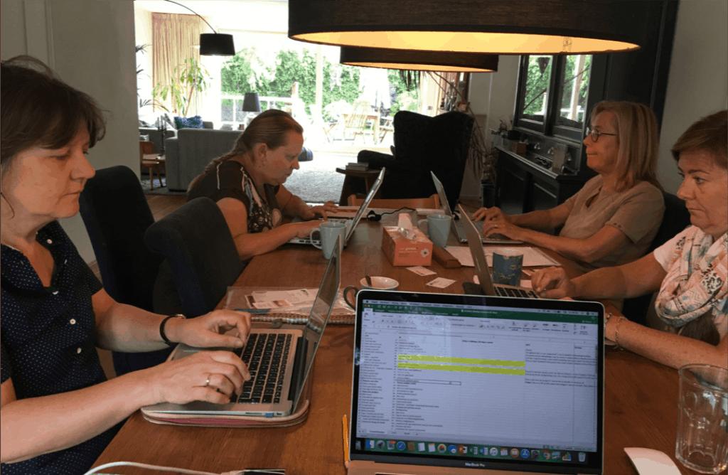 Content Cafe - hard aan het werk