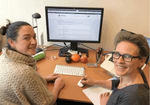 Leer bloggen Trudy Pannekeet - Christine Prudon
