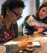 InstagramTraining voor ondernemers Praktisch - Trudy Pannekeet Wine & Dine Network en De Kindercoachbus
