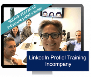 Online Training LinkedIn profiel Incompany BONUS Trudy Pannekeet