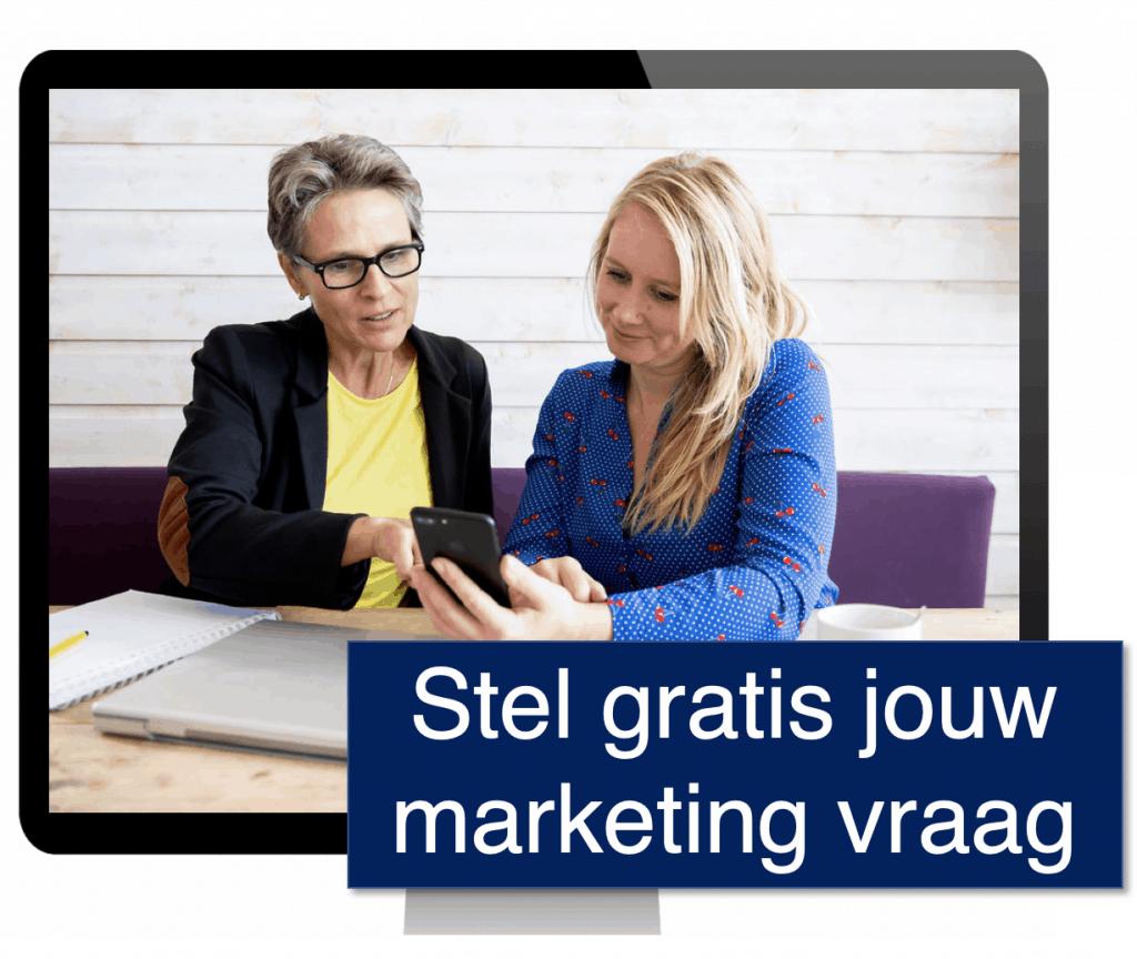 Tips voor Marketing tijdens Corona - Stel gratis jouw marketingvraag