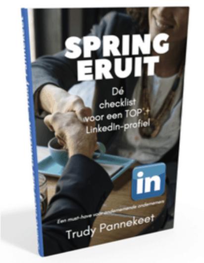 LinkedIn Checklist voor een TOP profiel -Gratis download Trudy Pannekeet
