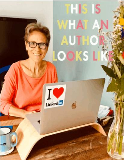 LinkedIn boek Spring eruit - Auteur in spe